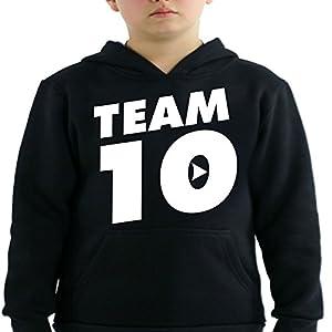 Logan Paul and Jake Paul Team 10 Kids Hoodie