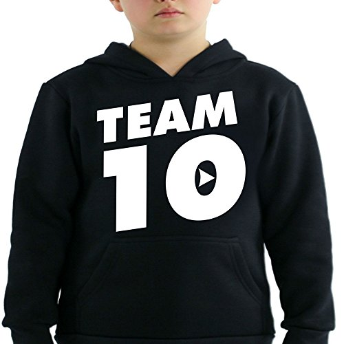 Logan Paul and Jake Paul Team 10 Kids Hoodie