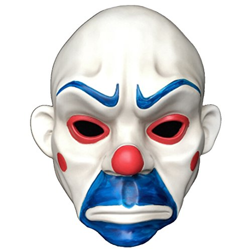 Joker Mask From Batman The Dark Knight Bank Robbery Scene -