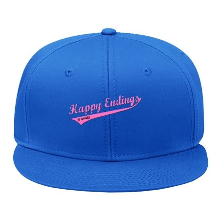 Speciality Apparel (Male/female Happy Endings My Speciality Sport Snapback Hat Hip Hop Cap For Summer Day Wearblue Cotton)