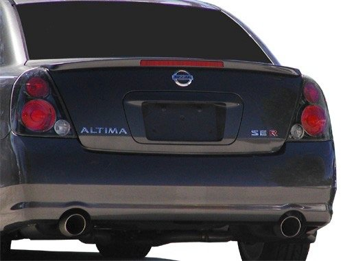JSP 339145 Altima SE-R Rear Spoiler Primed 2002-2006 Fits Nissan Factory Style with Led (Gray Primer) (Style Frp Hood)
