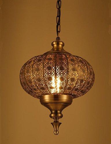 Asian Bronze Chandelier - Modern LED Ceiling lampSoutheast Asian Restaurant Entrance Balcony Bar Retro Hand Hollow Lron Chandelier , 110-120v