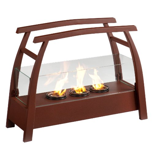 SEI AMZ2485 Kanto Portable Indoor/Outdoor Gel Fuel Fireplace