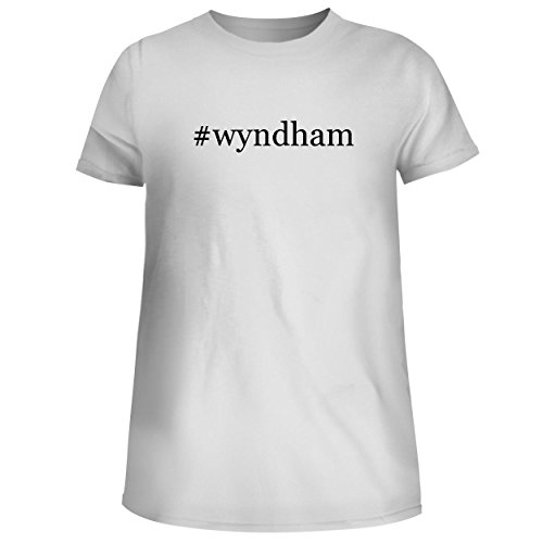 Bh Cool Designs  Wyndham   Cute Womens Junior Graphic Tee  White  Small