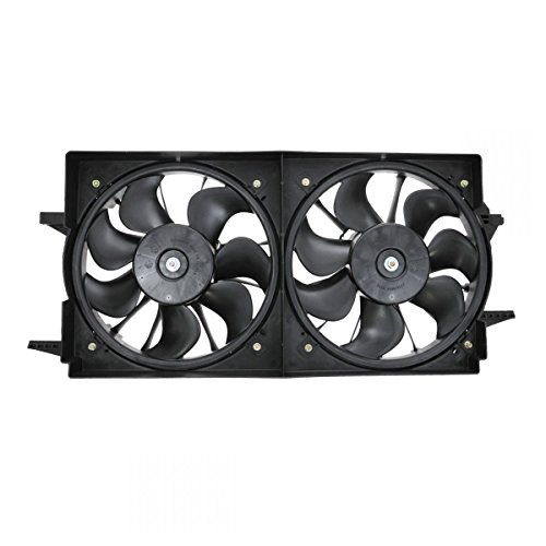 (Dual Radiator Cooling Fan Assembly for Chevy Malibu Pontiac Grand Am Cutlass)