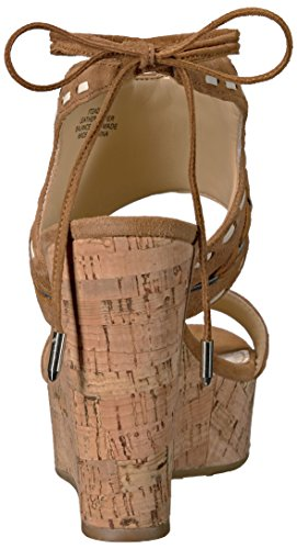 Ivanka Trump Women's Zader Wedge Sandal Cognac lFocutxl0
