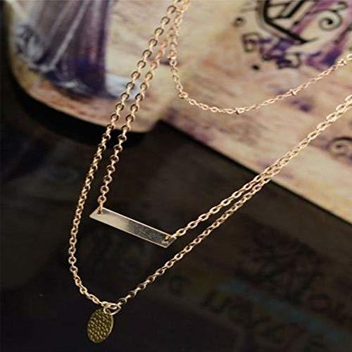 Tassel Gold Chain Choker Jewelry Chunky Statement Bib Necklace Female Pendant