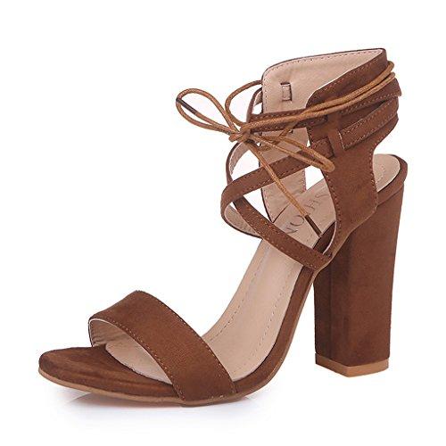 Minetom Altos De Sandals Toe Tac Tacones Playa Moda Casual Zapatos Mujeres Peep Sandalias Verano 1frw1Z