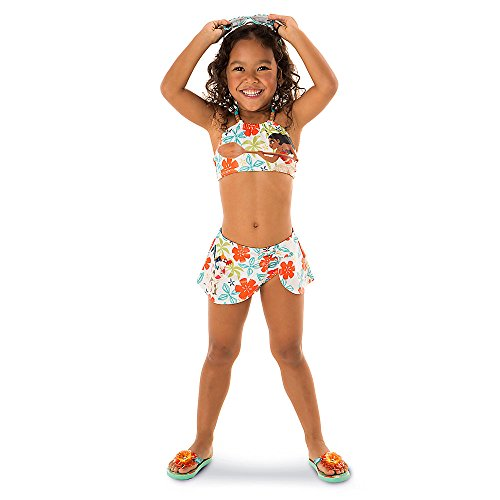 disney moana swimsuit for girls   2 piece white   buy
