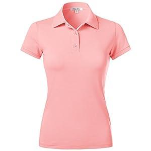 Plus Size Slim Fit Short Sleeve Sport Plain Polo Shirts