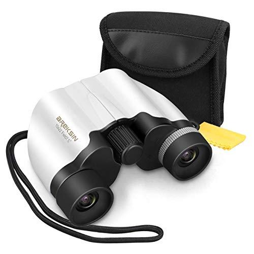 - Areksin 10x22 Mini Kid Binoculars Set with Night Vision High resolution,Hiking,Bird Safari Watching, Concerts Opera Stargazing for Children/Women, Birthday Gifts&Toys for Boys Girls