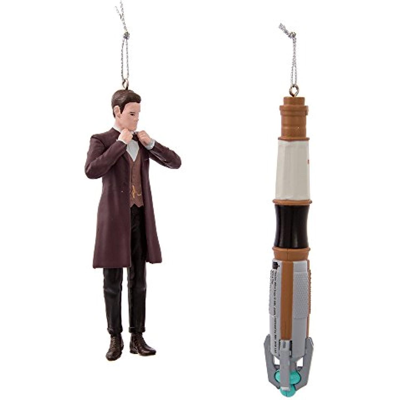 Kurt Adler Doctor Who Dalek Ornament Gift Set of 4 NWOB 2.25-Inch