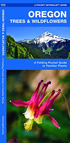 Oregon Trees & Wildflowers: A Folding Pocket Guide to Familiar Plants (Wildlife and Nature Identification)