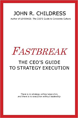 Book Fastbreak: The CEO's Guide to Strategy Execution