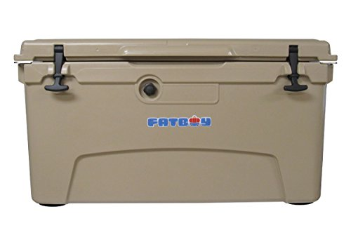 Fatboy 75QT Rotomolded Chest Ice Box Cooler Tan by Fatboy