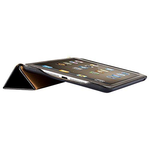 Jisoncase avec support pour iPad mini Apple - fermeture magnétique avec mise en veille automatique -Noir JS-IDM-01H10