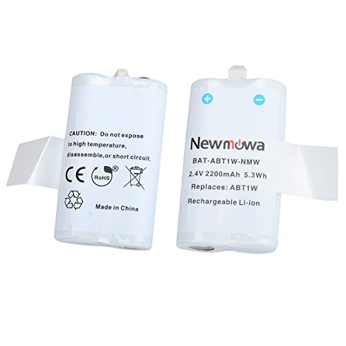 Newmowa ABT1W Rechargeable Battery for Flip Video ABT1W F160