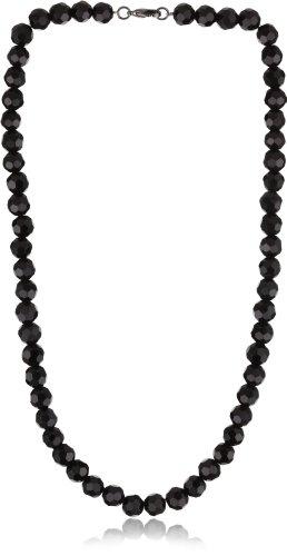 Jet Black Beaded Necklace (1928 Jewelry Vintage-Inspired Jet Black Beaded Necklace)