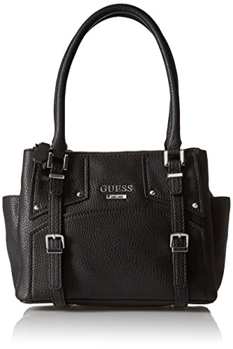 Status GUESS Small Rikki Rikki Satchel GUESS Black Pebble wXd4Ocq1KO