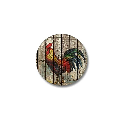 (CafePress Rustic Farm Country Rooster 1