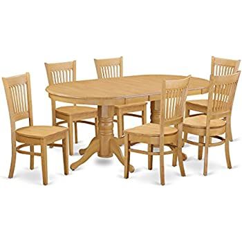 amazon com coaster home furnishings 7 piece mission style solid