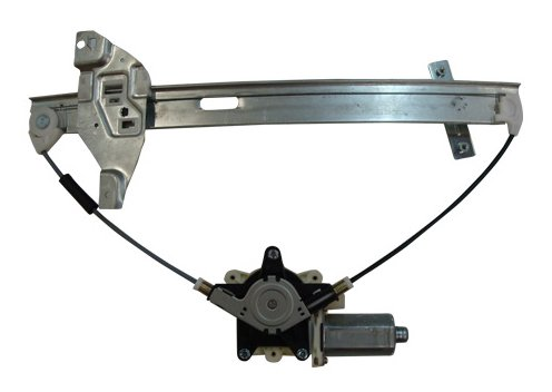 TYC 660200 Chevrolet Impala Front Driver Side Replacement Power Window Regulator Assembly with Motor