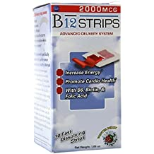 Essential Source B12 Strips with B6 and Biotin, 30 Count