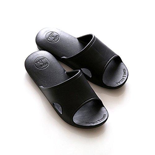 Moodeng House Slippers Men and Women Shower Sandal Slipper Indoor Slide Bath Shoes Unisex For Bathroom Black 3kpHHIe2