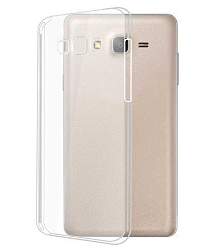 outlet store 28bb3 9853a FrossKin Silicone Transparent Back Covers with Tempered: Amazon.in ...