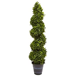 Nearly Natural 5475 Topiary with Planter (in/Outdoor) 62