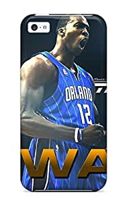 Rugged Skin Case Cover For ipod touch4- Eco-friendly Packaging(orlando Magic Nba Basketball (17) )