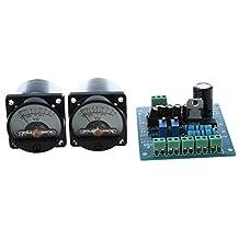 SODIAL(R) 2PCS 500¦ÌA vu meter vu meter indicatori A.D needle driver board AC12V driver