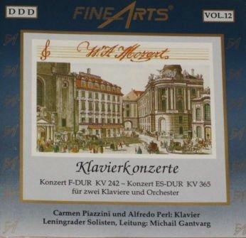 "Price comparison product image Mozart ""Klavierkonzerte"": Konzert F-Dur KV 242 - Konzert ES-Dur KV 365"
