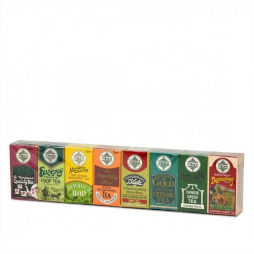 MlesnA 8 Sorten Schwarzen Premium Ceylon Tee (110g), loser Tee Probierset