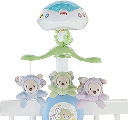 Amazon.com: Fisher-Price – Butterfly Dreams 3-in-1 de móvil ...