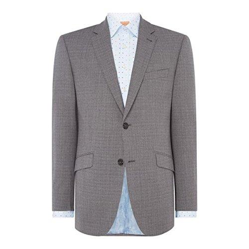 [サイモンカーター] メンズ ジャケット&ブルゾン Irregular Self Check Suit Jacket [並行輸入品] B07F35P282 44l