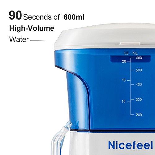 nicefeel water flosser oral irrigator dental care power import it all. Black Bedroom Furniture Sets. Home Design Ideas