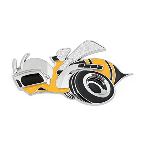 Dodge Challenger Super Bee (Areyourshop Super Bee Scat Pack Dodge Challenger Charger Emblem Sticker Badge Aolly Hemi SRT)