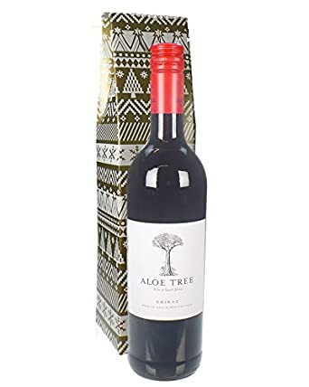 Christmas South African Shiraz Red Wine Gift 75cl In Christmas