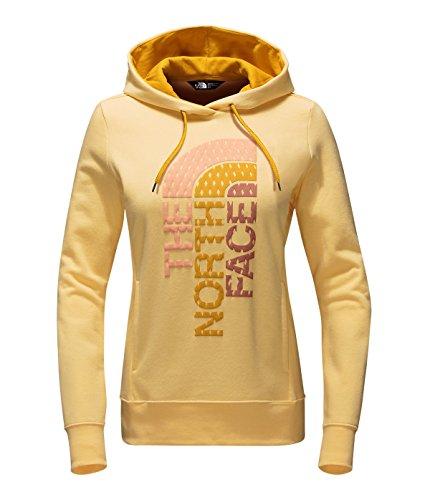 the-north-face-womens-trivert-logo-pullover-hoodie-sweatshirt-golden-haze-golden-yellow-multi-medium
