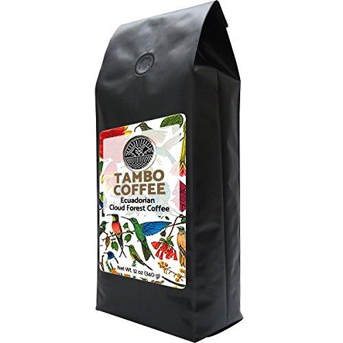 Single Estate Coffee Ecuador Tambo Quinde, Ground Coffee, Dark Roast 12oz 340grams