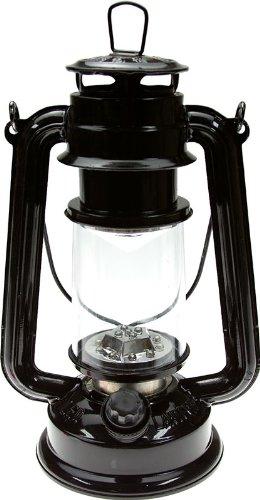 SE – Lantern – Hurricane, Dimmer Switch, Black, 15 LED – FL805-15B, Outdoor Stuffs
