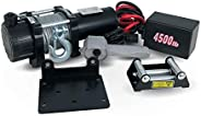 Five Oceans Electric Trailer Recovery Winch, 2000 LBS, 3000 LBS, 4000 LBS and 4500 LBS