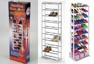 Amazing Shoe Rack 30 Pairs Amazing Shoe Storage 10 Tier Shoe Rack ...
