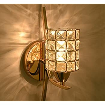 """5"""" Square Crystals Bath Wall Sconce Lighting Fixture ..."""