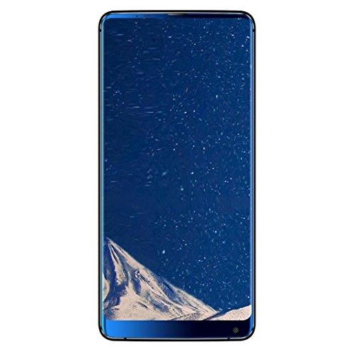 LtrottedJ Vkworld S8 5.99-inches 18: 9 Full Screen 4G-LTE Fingerprint Smartphone 4+64GB (Blue)