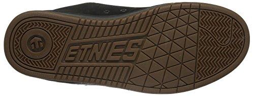 EtniesFader - Zapatillas de Skateboard hombre Negro - Black (Black/Silver/Gum569)