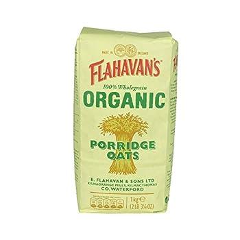 Flahavan's - Organic Porridge Oats - 1kg (Case of 15)