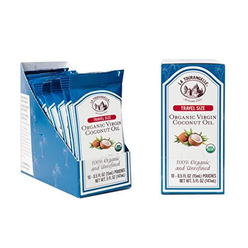 Tourangelle Organic Coconut 3 Carton Convenient