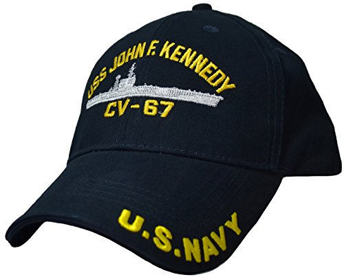 - USS John F. Kennedy CV-67 Low Profile Cap Blue
